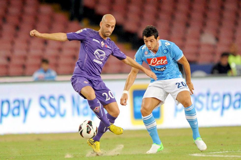 Napoli - Fiorentina Campionato Serie A 20122013