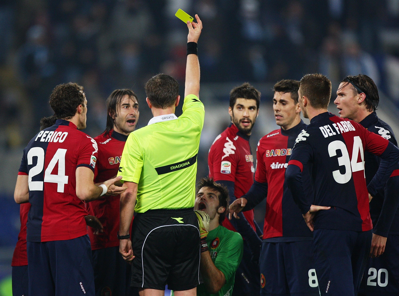 S.S. Lazio v Cagliari Calcio - Serie A