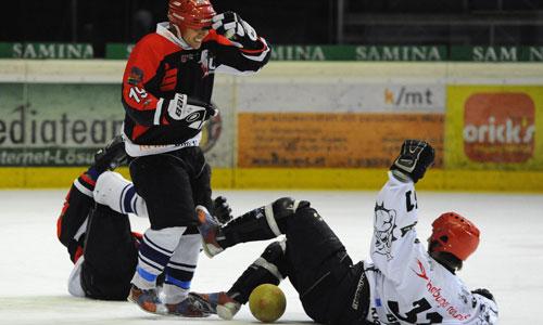 calcio su ghiaccio